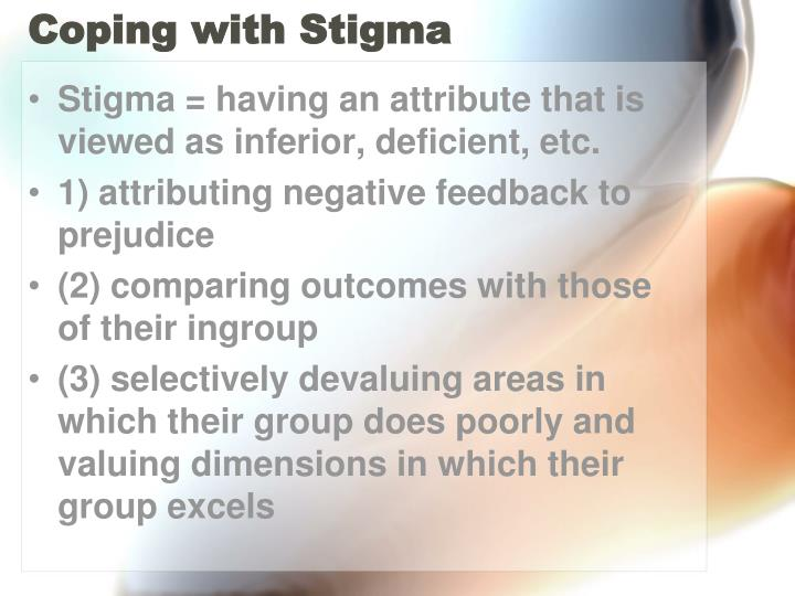 Coping with Stigma