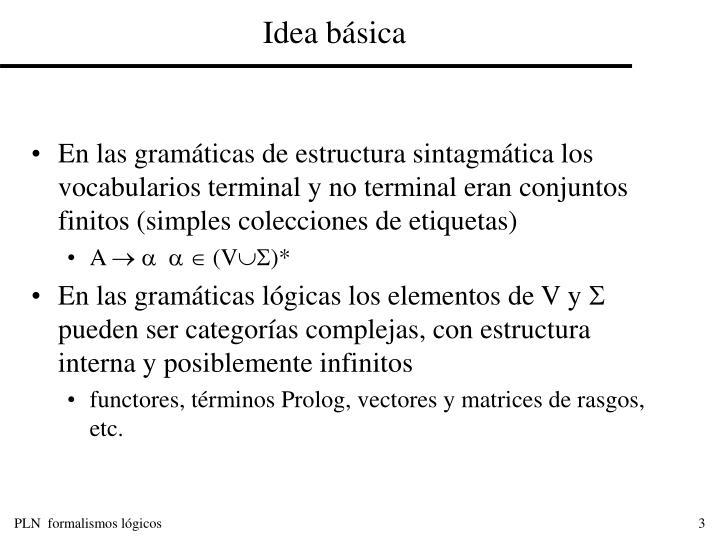 Idea b sica