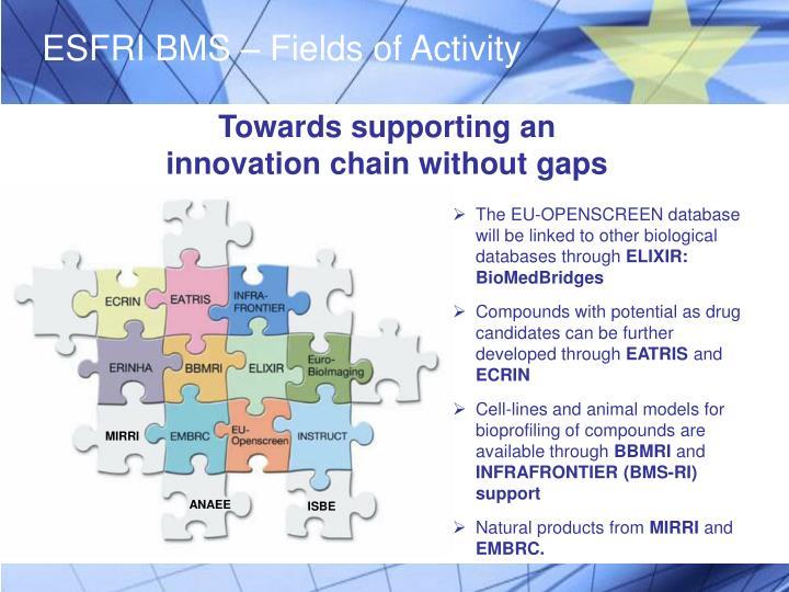 ESFRI BMS – Fields of Activity