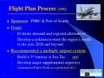 flight plan process 1992