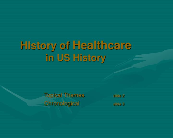 history of healthcare in us history n.