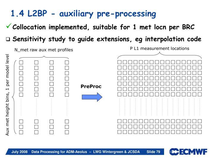 P L1 measurement locations