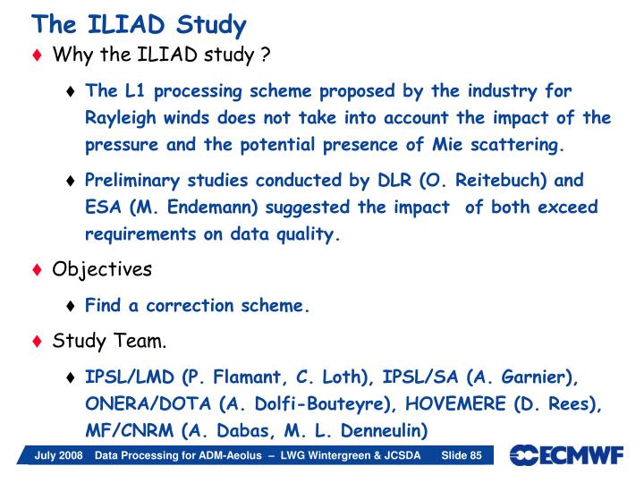 The ILIAD Study
