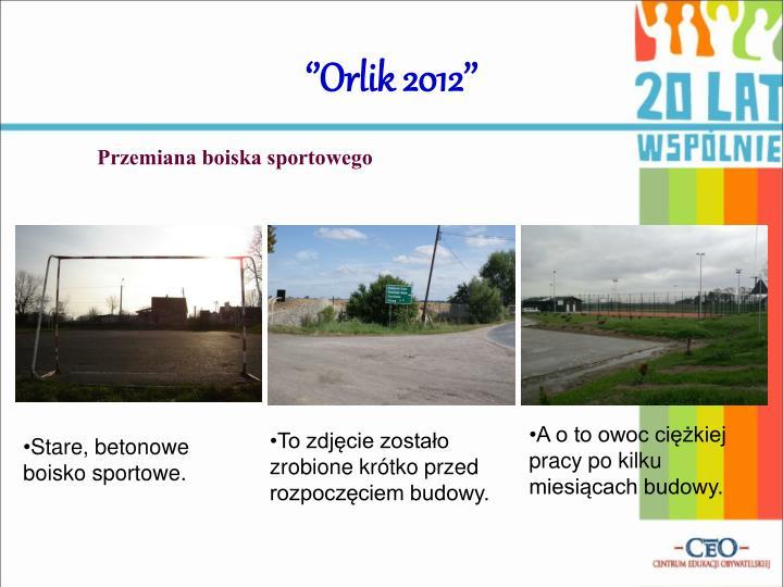 ''Orlik 2012''