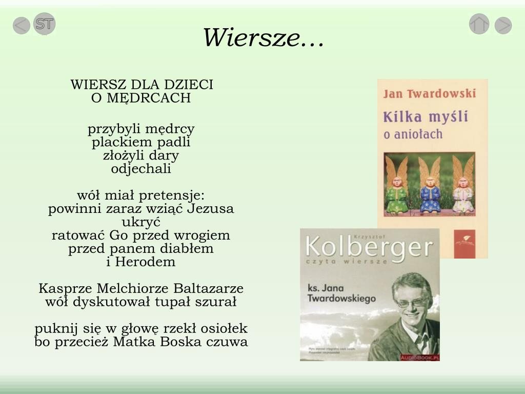 Ppt Ksiądz Jan Twardowski Powerpoint Presentation Free