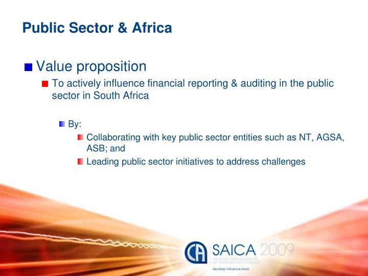 Public Sector & Africa
