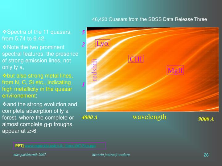46,420 Quasars from the SDSS Data Release Three