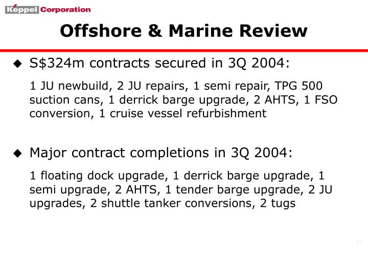 Offshore & Marine Review