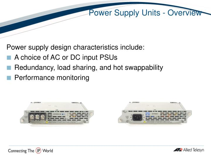 Power Supply Units - Overview