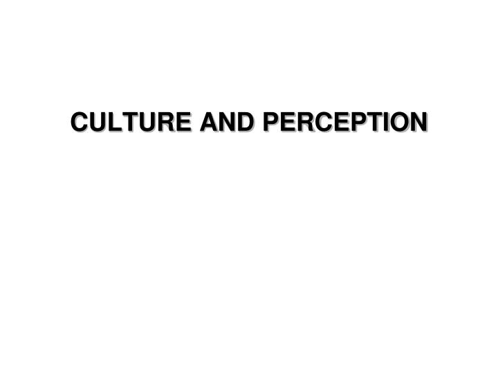 cultural perception theory 11 colour theory cross-cultural differences in perception have tangible effects on consumer behaviour, and if so, whether these can be measured and ultimately compared 21 colour preferences a study was.