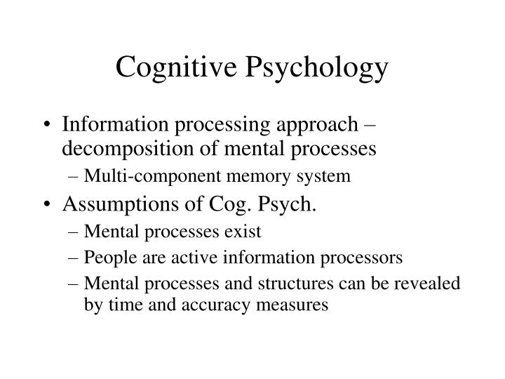 Ppt What Is Cognitive Psychology Powerpoint Presentation Id4749317