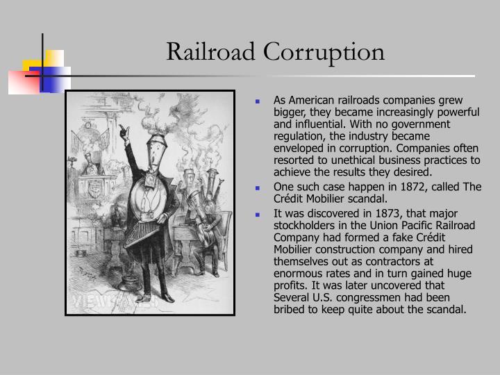 Railroad Corruption
