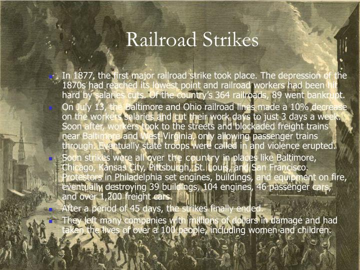 Railroad Strikes