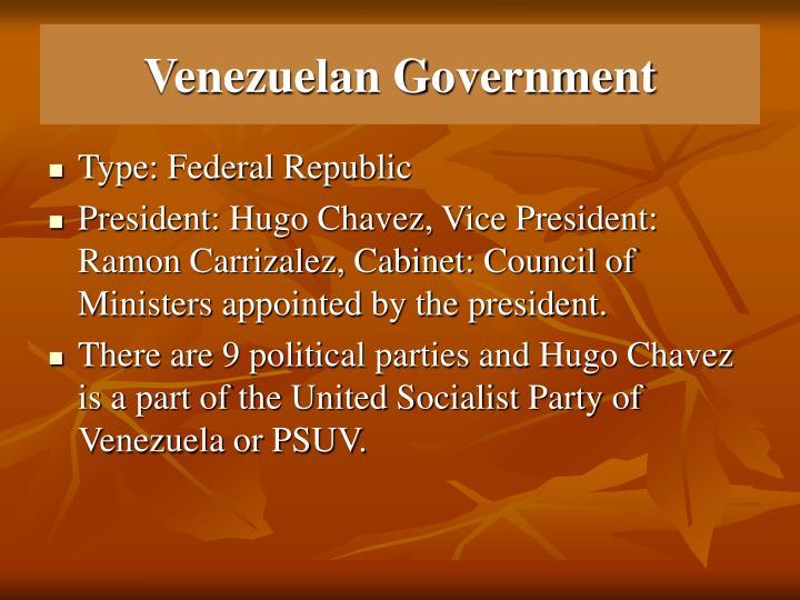 Venezuelan government