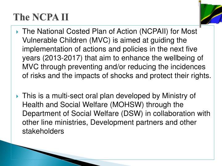 The NCPA II