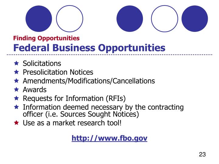 Ppt procurement technical assistance center government for Finding subcontracting opportunities
