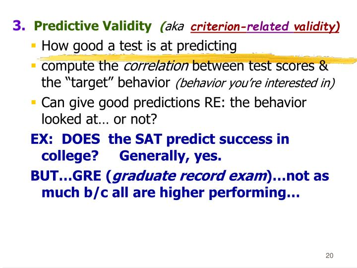 IQ tests and the SAT do not predict success in university