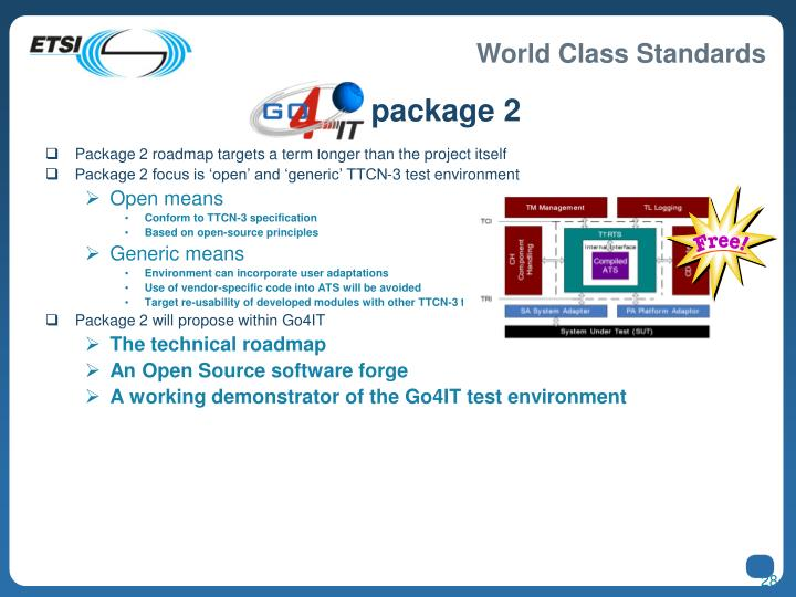 Go4IT package 2