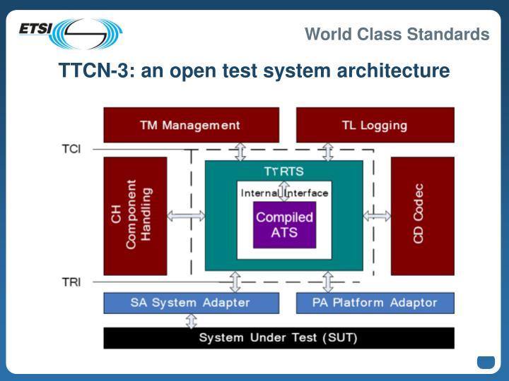 TTCN-3: an open test system architecture