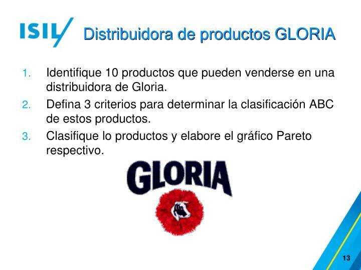 Distribuidora de productos GLORIA