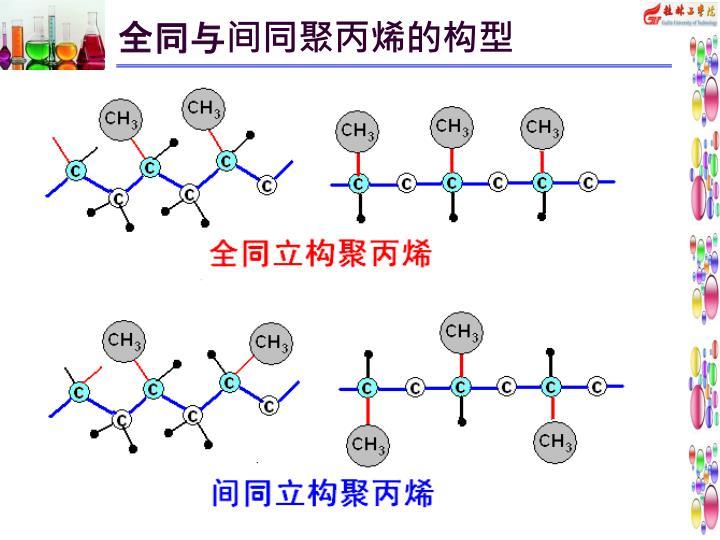 全同与间同聚丙烯的构型