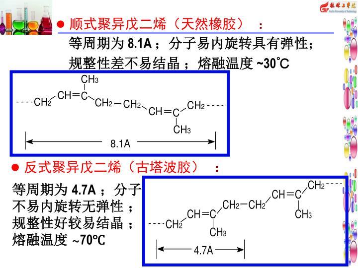 顺式聚异戊二烯(天然橡胶)