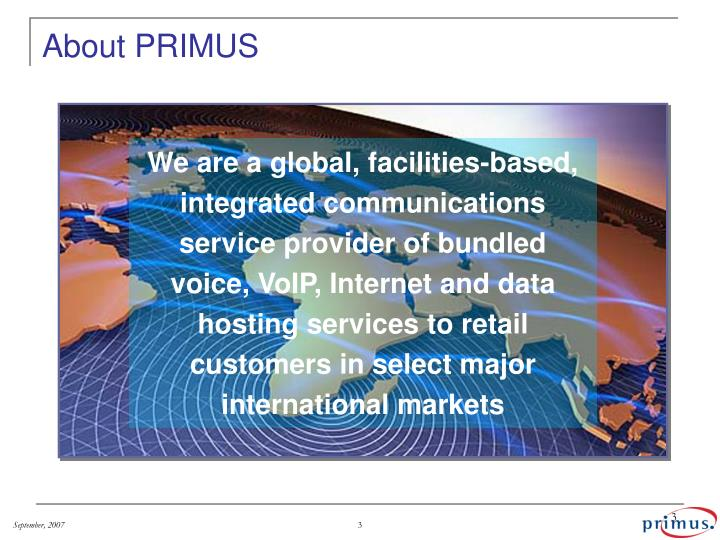 About primus