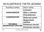 3a klasifikace taktik jedn n