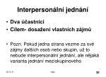 interperson ln jedn n