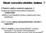 obsah vzorov ho etick ho kodexu 7
