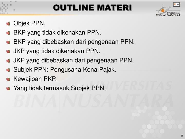 Ppt Pertemuan 2 Objek Dan Subjek Ppn Powerpoint Presentation Id