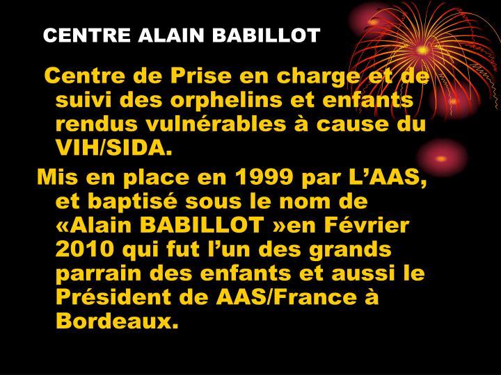 Centre alain babillot
