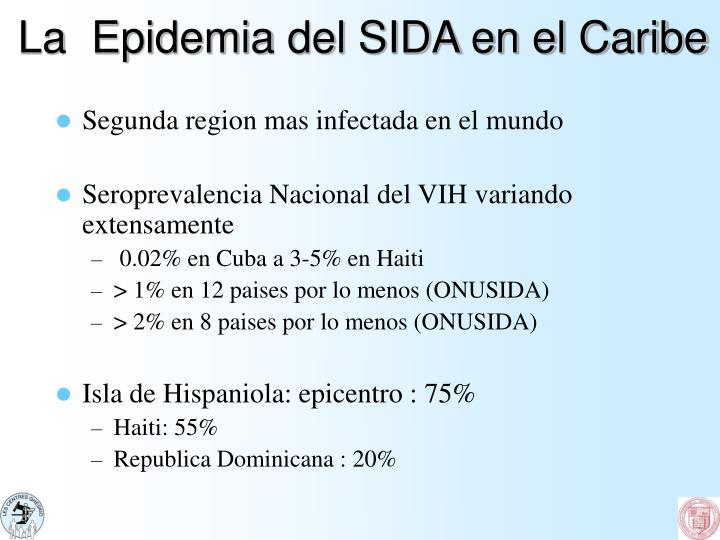 La  Epidemia del SIDA en el Caribe