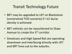 transit technology future