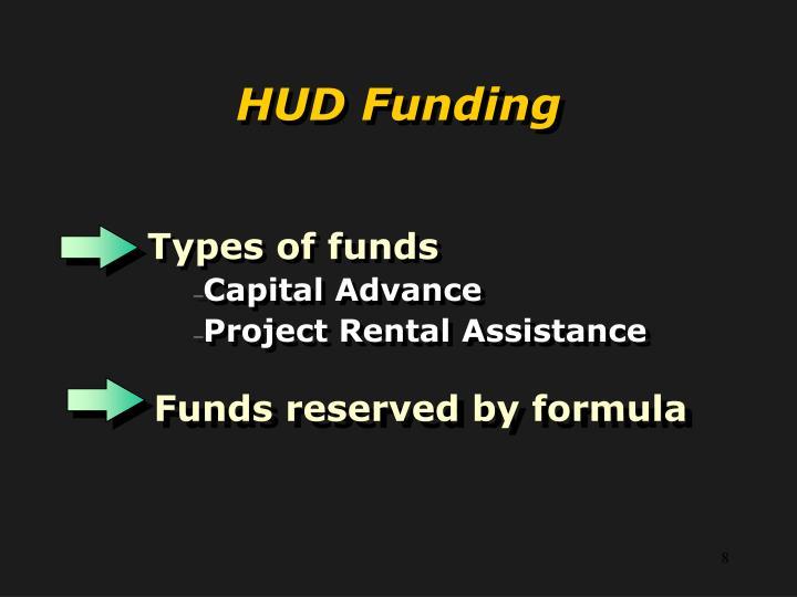 HUD Funding