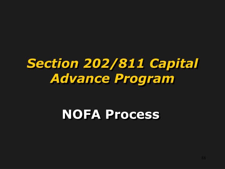Section 202/811 Capital Advance Program