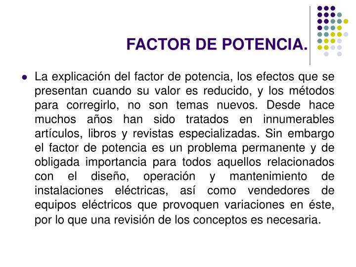 Factor de potencia1