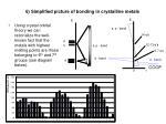 6 simplified picture of bonding in crystalline metals