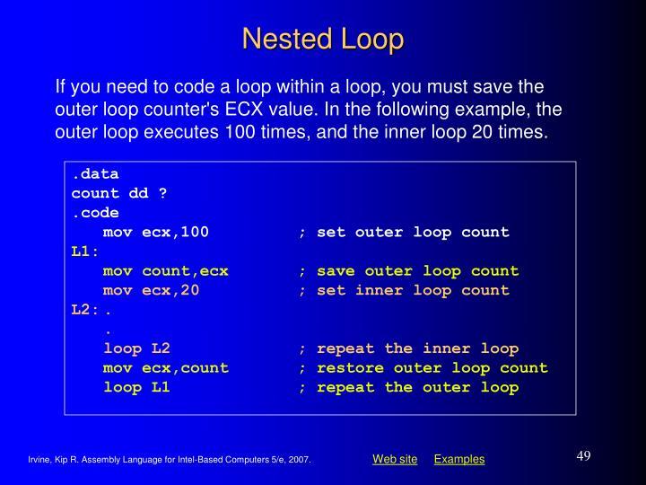 Nested Loop
