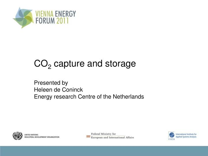 co 2 capture and storage n.