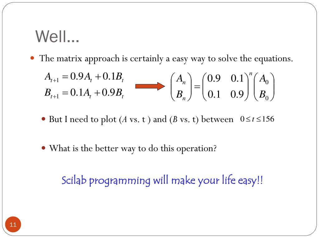Scilab tutorial ppt