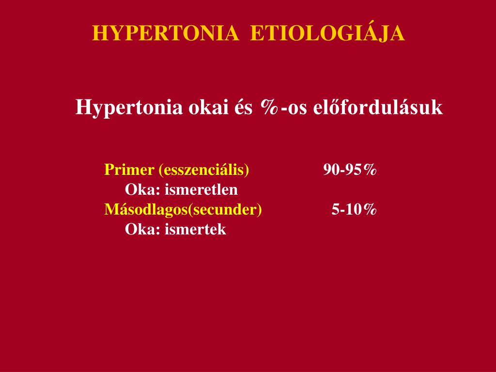 hipertónia okai annak előfordulásának magas vérnyomás megfizethető kezelés