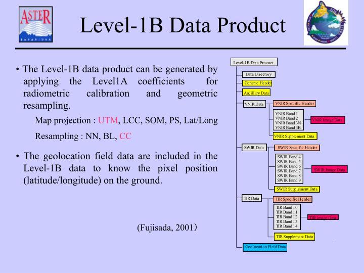 Level-1B Data Product