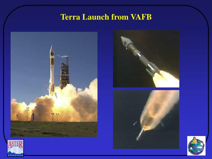 Terra Launch from VAFB