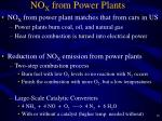 no x from power plants