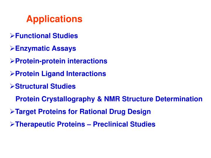 Ppt Protein Engineering And Recombinant Protein