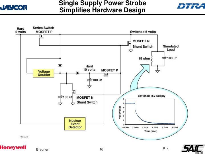 Single Supply Power Strobe
