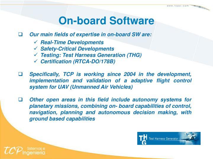 On-board Software