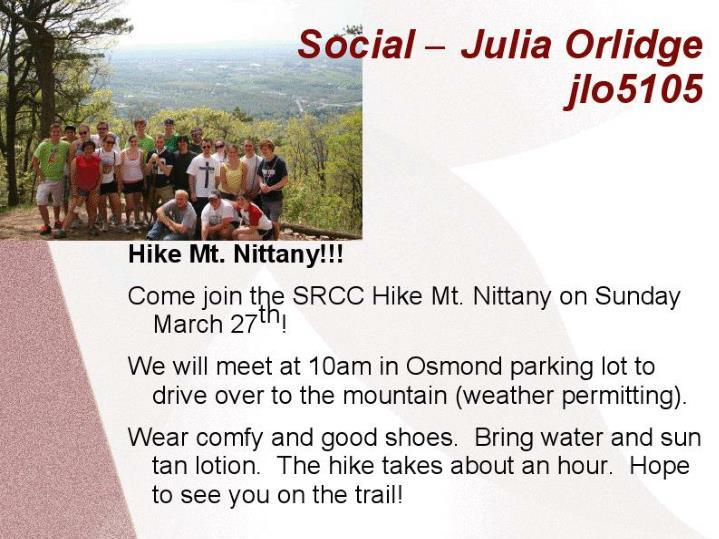Social – Julia Orlidge