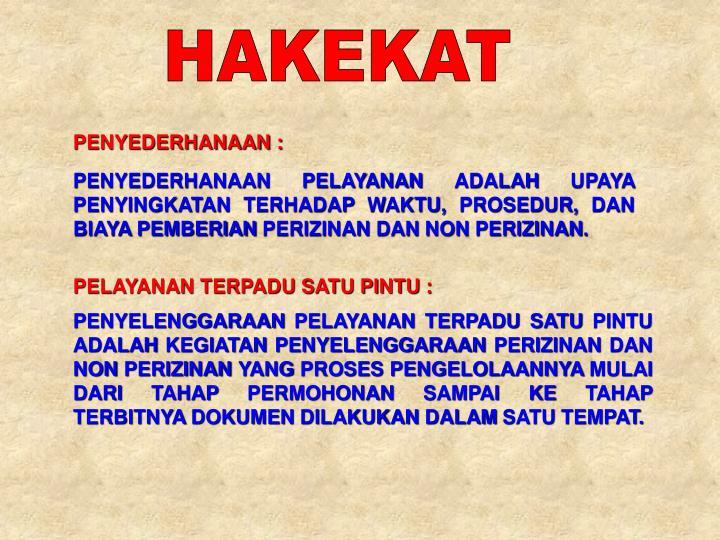 HAKEKAT